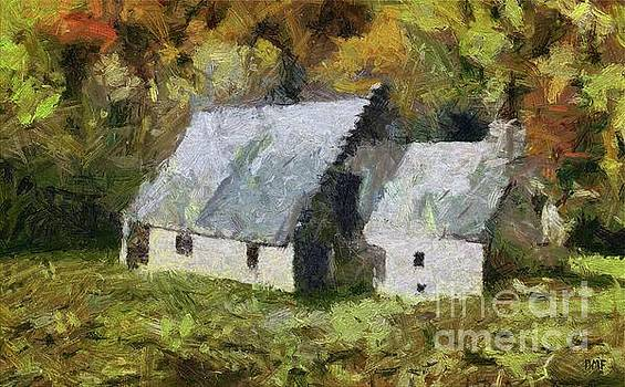 Two Barns by Dragica Micki Fortuna
