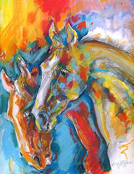 Two beauties by Mary Armstrong