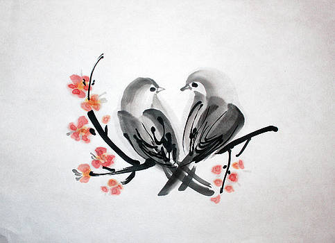 Two Birds by Fumiyo Yoshikawa