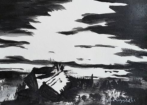 Two Boats by Sallie Wysocki