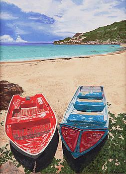 Two Boats by Sandra Azancot
