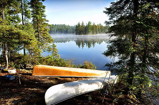Two Canoes by Erin Clausen