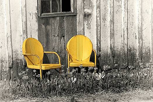Two Chairs by Scott Fracasso
