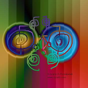 Rizwana A Mundewadi - Two Circles of Healing