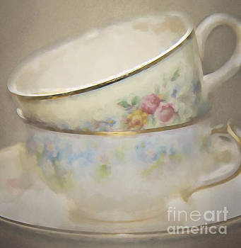 Two Cups by Pam  Holdsworth