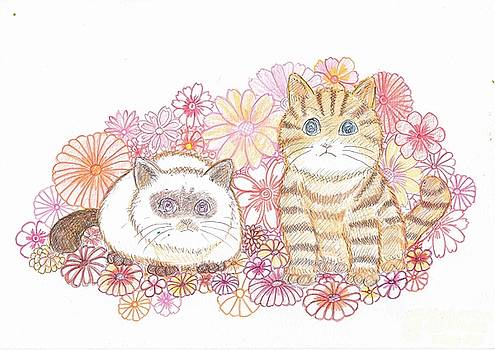 Two customers who often come to our house by Tetsuya Koja