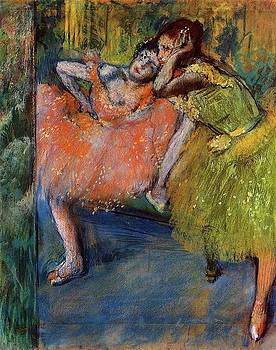 Degas - Two Dancers In The Foyer
