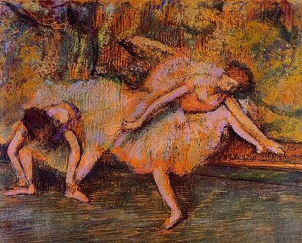 Degas - Two Dancers On A Bench