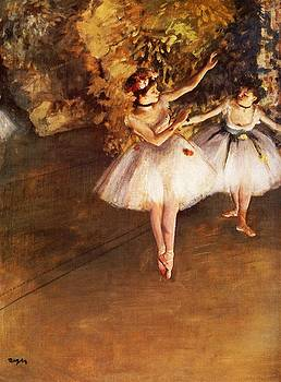 Degas - Two Dancers On Stage