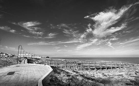 Two Directions At The Beach by Gary Gillette