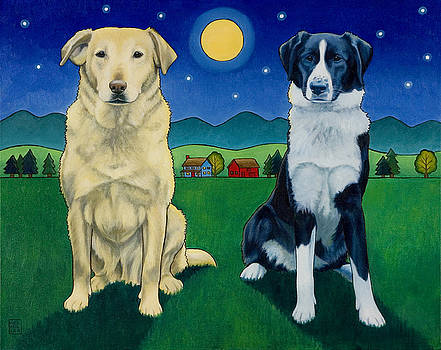 Two Dog Night by Stacey Neumiller