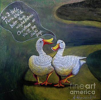 Two Ducks-a-Walking by Anne Havard