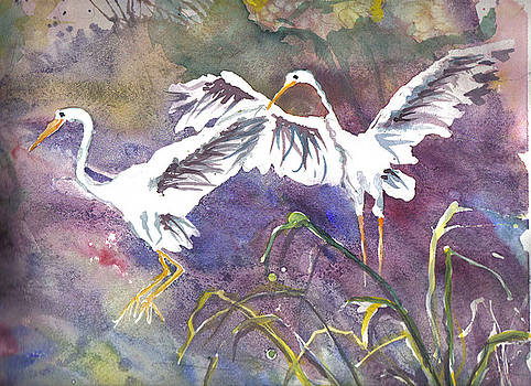 Casey Shannon - Two Egrets