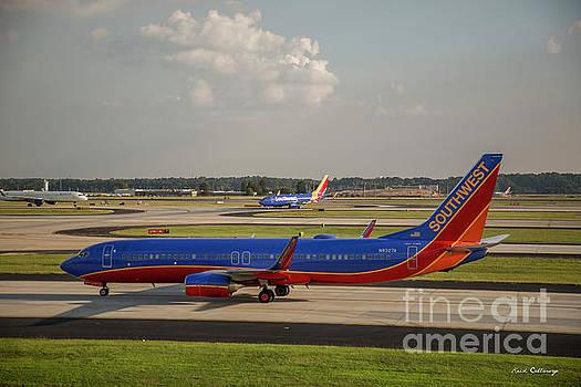 Reid Callaway - Two For One Southwest Airlines N8327A Hartsfield Jackson Atlanta International Airport Art