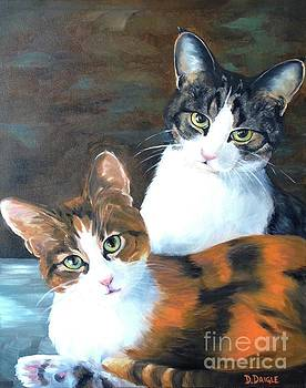 Two Friends by Diane Daigle