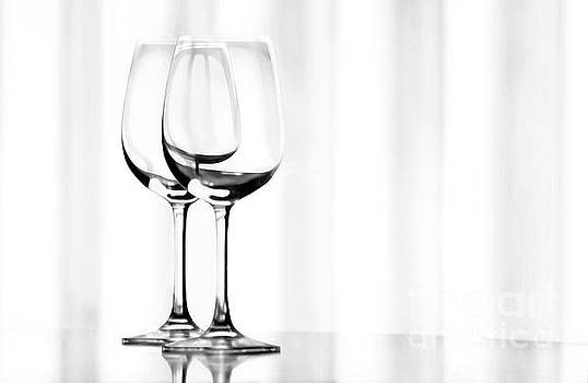 Two Glasses by Dan Holm