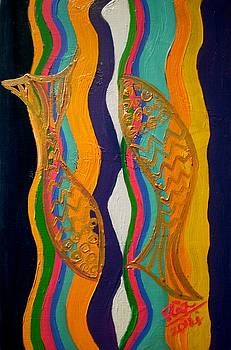 Rizwana Mundewadi - Two Gold Fishes of Goodluck
