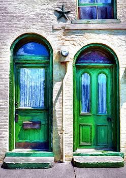 Mel Steinhauer - Two Green Doors
