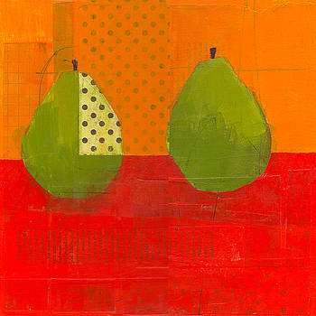Two Green Pears by Laurie Breen