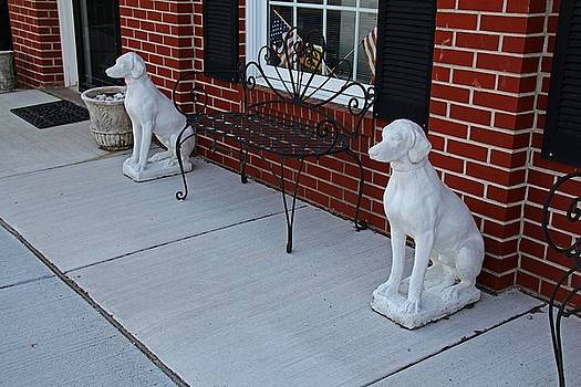 Two Guard Dogs by Michiale Schneider