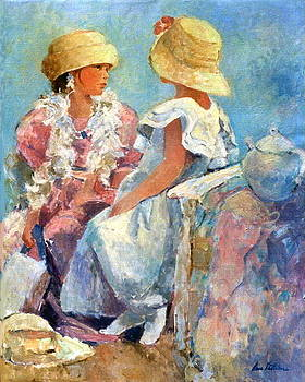 Two Hats by Anne Lattimore
