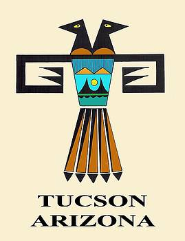 Two-Headed Bird Tucson, AZ by Vagabond Folk Art - Virginia Vivier