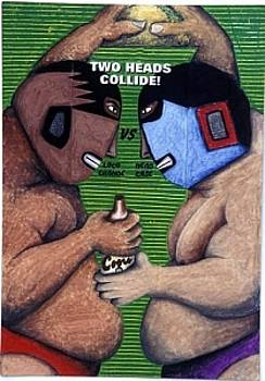 Two Heads Collide by Billy Knows