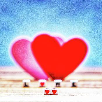 Two hearts by Miro Vrlik