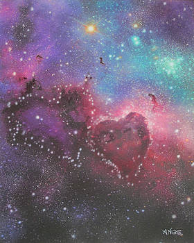 Angie Hamlin - Two Hearts Nebula