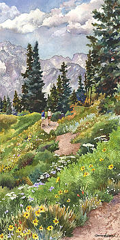 Anne Gifford - Two Hikers