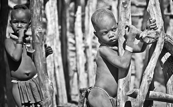 Himba boys by Sandy Schepis