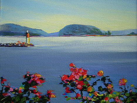 Two Hour Paint-out, Sidney B C by Catherine Robertson