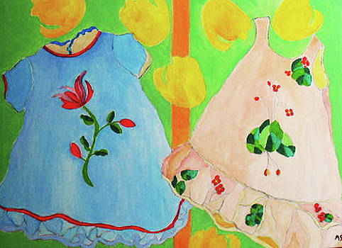 Two Little Dresses by Martin Silverstein