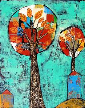 Two Lollipop Trees by Margaret  Blanchett