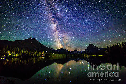 Two Medicine Milky Way by John Lee