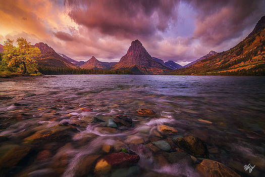 Two Medicine Sunrise by Peter Coskun