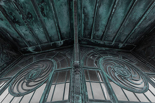 Terry DeLuco - Two Medusa Windows Carousel House Asbury Park New Jersey