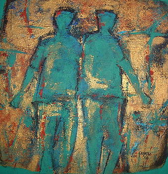 Two Men by Gayatri Manchanda