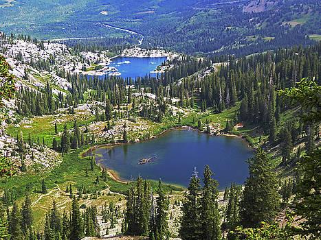 Two Mountain Lakes, Park City, Utah by Alan Socolik