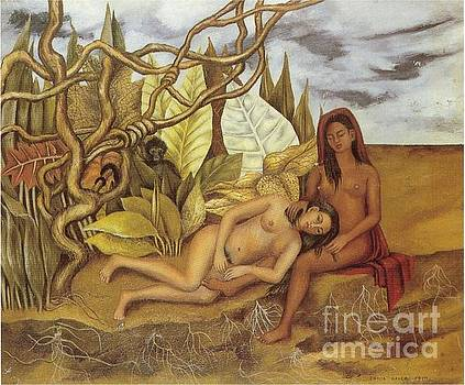 Kahlo - Two Nude Women