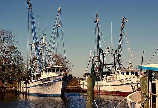 Susanne Van Hulst - Two Old Shrimpboats