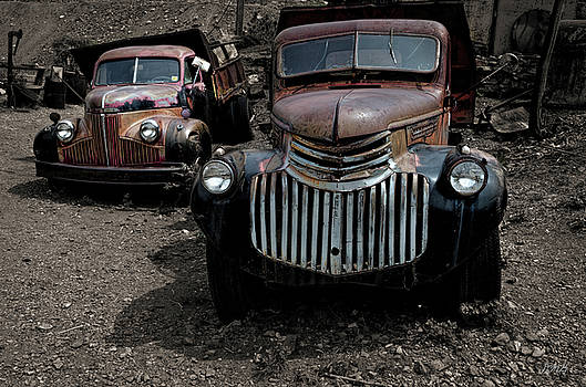 David Gordon - Two Old Trucks
