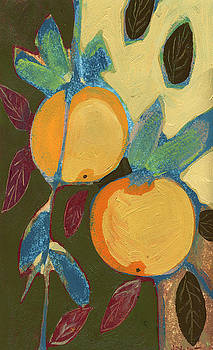 Two Oranges by Jennifer Lommers