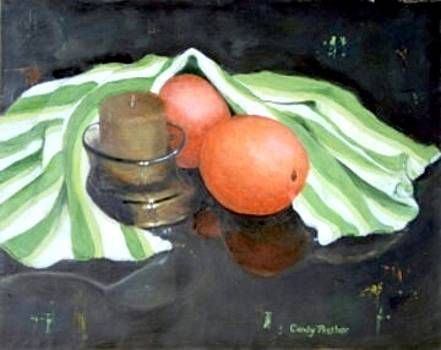 Two Oranges Under Cover by Candy Prather