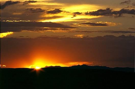 Two Peaks Sunset by Lynard Stroud