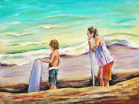 Two Perfect Waves by Patricia Piffath