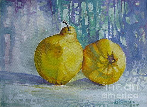 Two quinces by Elena Oleniuc