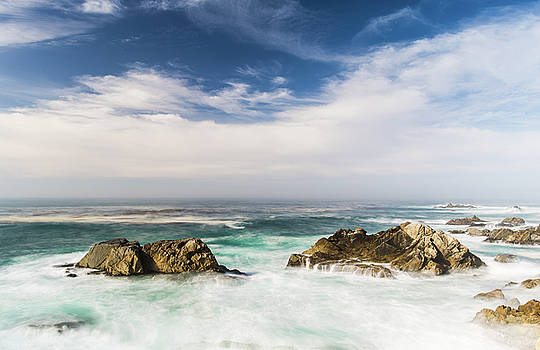Two rocks in the Pacific ocean by Jingjits Photography
