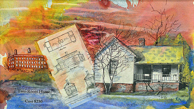 Two Room Mill House by Edith Hardaway