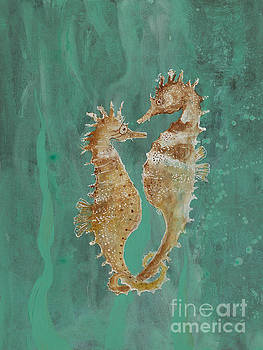 Two Seahorse Lovers by Robin Maria Pedrero
